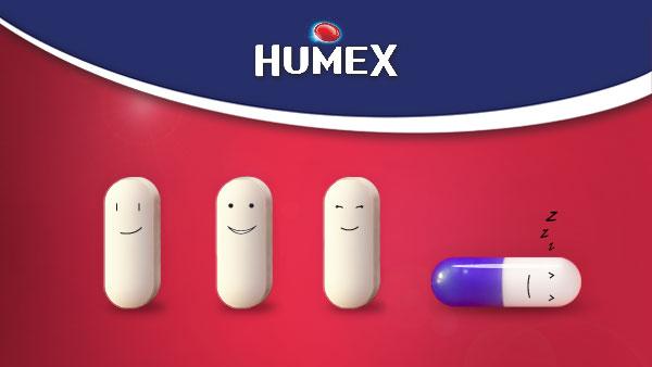 Humex - бодър ден, лека нощ