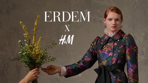ERDEM x H&M - уеб приложение / игра